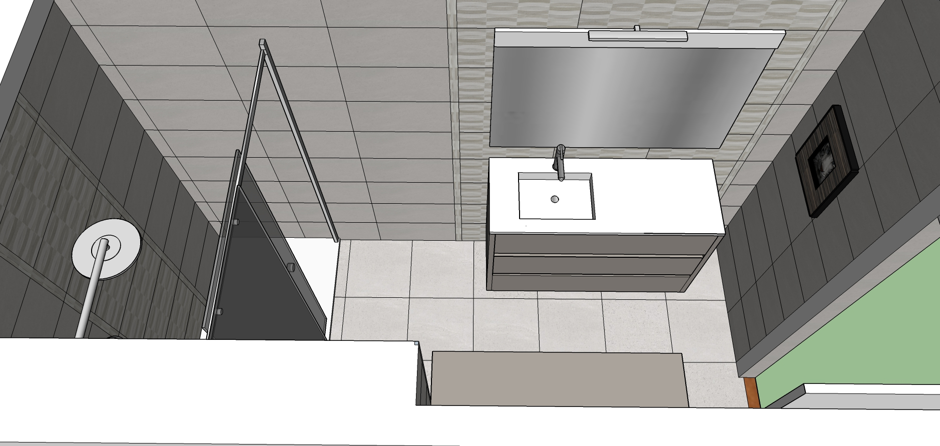 Proyecto 3D-Reforma integral-reforma-coruña-cambio bañera por plato de ducha-contratista-empresa-de-reformas-renueve su casa-reforma baño-reforma cocina-cocinas express_1
