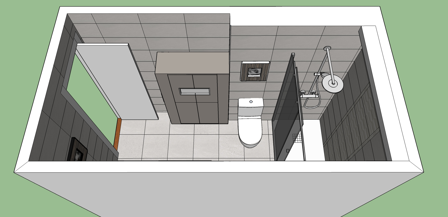 Proyecto 3D-Reforma integral-reforma-coruña-cambio bañera por plato de ducha-contratista-empresa-de-reformas-renueve su casa-reforma baño-reforma cocina-cocinas express_10