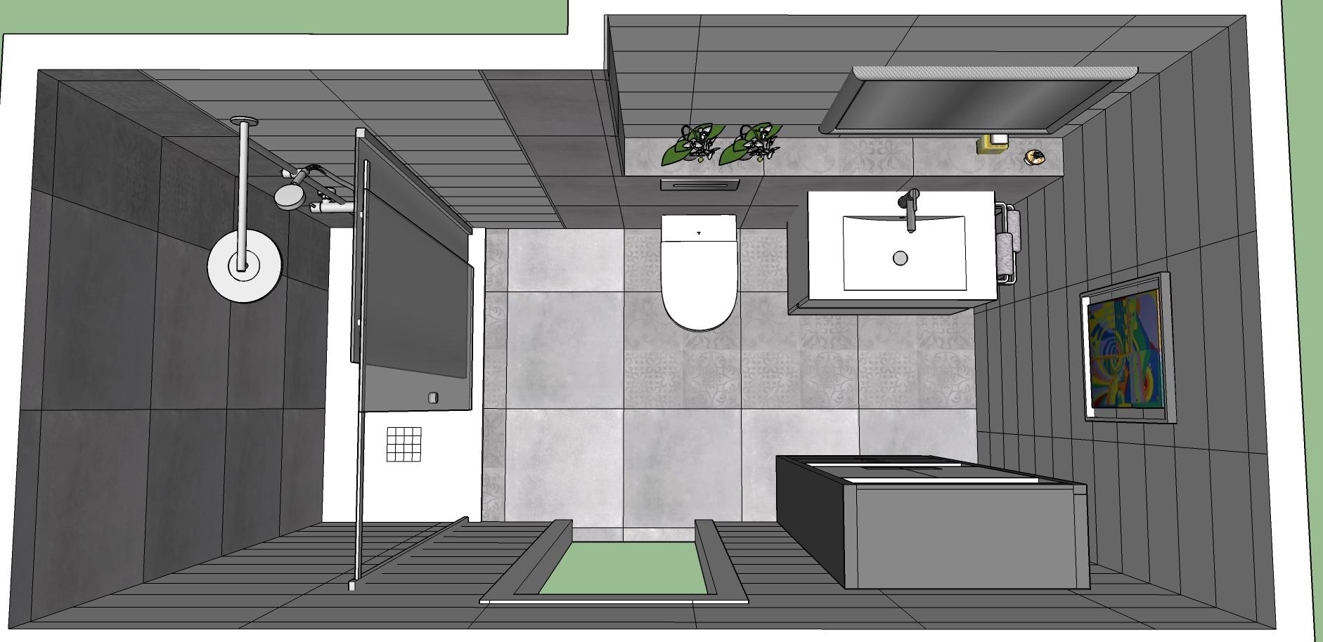Proyecto 3D-Reforma integral-reforma-coruña-cambio bañera por plato de ducha-contratista-empresa-de-reformas-renueve su casa-reforma baño-reforma cocina-cocinas express_2