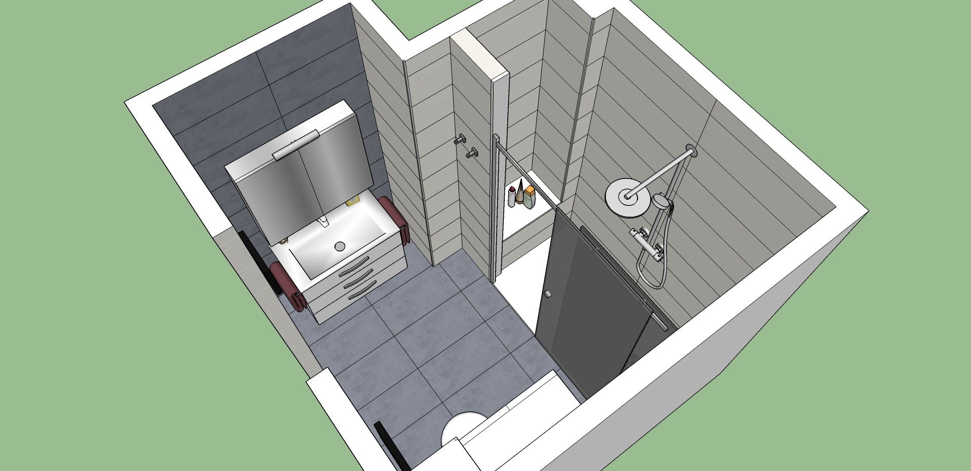 proyecto 3d-Baños-express-Baño-reforma-coruña-cambio bañera por plato de ducha-aseo-renovar-contratista-empresa-de-reformas-renueve su casa1