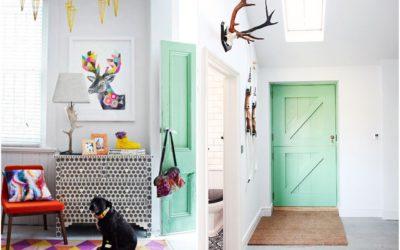 ¿Te animas a darle un toque a tu hogar pintando las puertas con chalk paint?