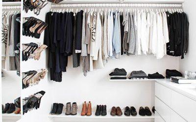 ¿Cómo sacarle mayor partido a tu vestidor? ¿Qué debes tener en cuenta?