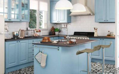 Dale una segunda vida a los muebles de tu cocina ¡Píntala!