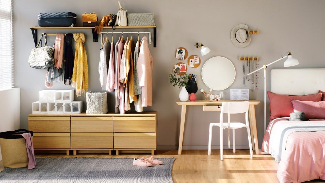 Consejos para tener un vestidor en un espacio pequeño